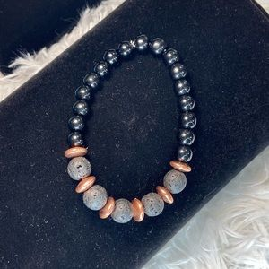 LAVA stone stretch bracelet MAKE OFFER